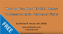 TES-593-RF-Meter-Instructions--How-to-Measure-Radio-Frequency-Fields-Using-the-TES-593-Meter